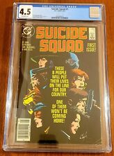 Suicide Squad #1 News Stand  Cgc 4.5