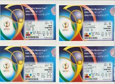 More details for 2002 world cup 24 tickets, including england, brazil, germany, france
