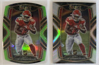 2020 Select CLYDE EDWARDS-HELAIRE #254 Club Level Silver Prizm + Green Die Cut