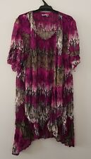 Womens Top - Size 12 - From Filo - Brand New Without Tags - Purple Ruffle
