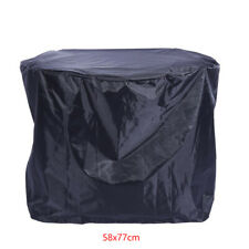 Rainproof Patio Round Fire Pit Cover Outdoor Barbeque Grill Round Dust Cover