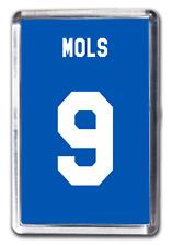 Michael Mols Rangers Inspired Number 9 Football Shirt Fridge Magnet