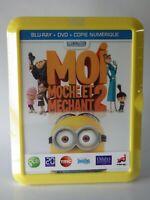 Blu-ray +DVD MOi moche et Méchant 2  despicable me 2 universal studios 2013 neuf