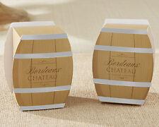 Wine Barrel Wedding Bridal Shower Favor Boxes 24/pk