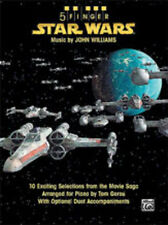 5 dedo Star Wars (piano fáciles); Williams Arr gerou, piano solista, alfgb - 31880