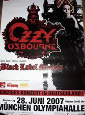 Ozzy Osbourne 2007 München Tour Konzert Plakat Concert Callejon Poster 84cm