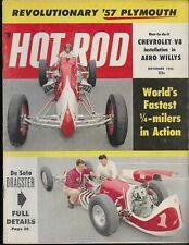 Hot Rod V. #9 #11 November 1956 Revolutionary '57 Plymouth