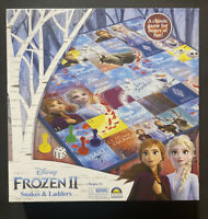 Frozen 2 Snakes And Ladders - Family Board Game - Girls - Brand New - Official