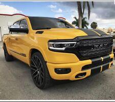 "2019 UP Dodge Ram 11"" Plain Rally stripes Stripe Graphics 1500 2500 3500"