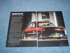 "1949 Ford 2-Door Coupe Custom Article ""Brown Recluse"""
