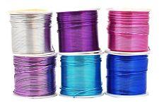 Mandala Crafts Super Long Colored Aluminum 12 16 18 20 22 Gauge Jewelry Making