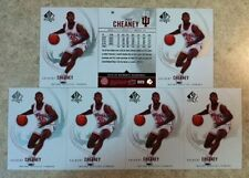 Calbert Cheaney Indiana Hoosiers Super Star 7cd Lot 2010 SP Authentic