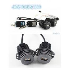 LED Angel Eyes RGBW Light 40W Cree XML for BMW X-series E71 X6 E70 X5M X6M 08-13