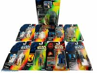 🔥Lot of 9 • Vintage 1995-98 • Star Wars • Power of the Force Figures • Kenner