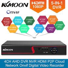 KKMoon 4/8/16Channels 1080P AHD NVR 51n1 DVR CCTV Recorder Cloud Netwrok Onvif