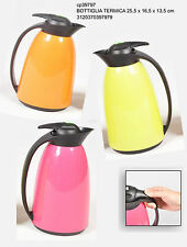 thermos bottiglia termica brocca caraffa colorata per mare picnic lavoro