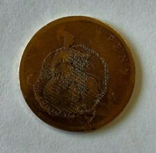 1887 ONE PENNY COIN (QUEEN VICTORIA'S HAIR IN A BUN) - QUITE WORN