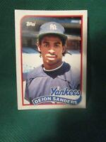 1989 Topps Traded #110T_Deion Sanders _8.0