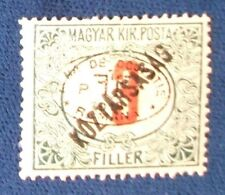 Hungary SC# 2NJ12 MH First Debrecen Issue Postage Due