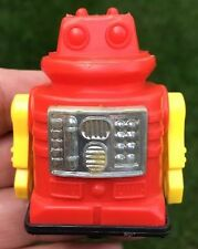 Vintage Plastic Space Robot Friction Toy-Hong Kong