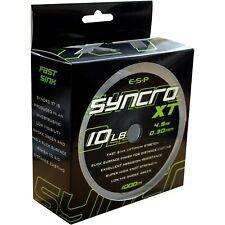 NEW ESP Syncro XT Mono Fishing Line - 10LB - Smoke Green - 1000m - ELSYXT010