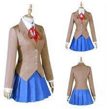 Doki Doki Literature Club Cosplay Sayori Yuri Natsuki Monika Uniform Costume UK