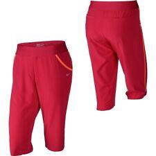 Nike Golf 551828 Women's $75 Pull-on Long Shorts UV Modern Rise Bermuda Woven