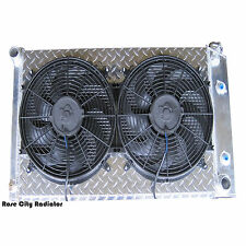 "1967-81 Catalina Radiator & Shroud & Fans/ CHAMPION 3 Row/Diamond Plate/14"" Fans"