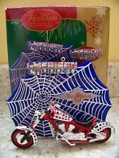 Carlton Cards Heirloom 2006 Black Widow Bike American Chopper Christmas Ornament