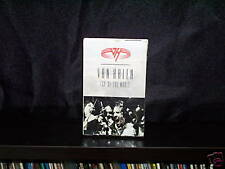 VAN HALEN TOP OF THE WORLD - RARE AUSTRALIAN CASSINGLE NM