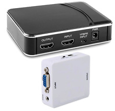 Digital HDMI DVI VGA Component Video MP4 Recorder With HDMI Output