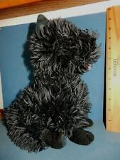 "Cairn Terrier Dark Grey 11"" Plush Stuffed Dog Kohl'S Euc Toto"