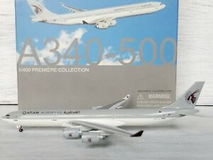 Dragon Wings 1:400 Qatar Airways Airbus A340-500 Diecast Aircraft Model New