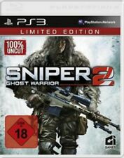 PLAYSTATION 3 SNIPER Ghost Warrior 2 LIMITED EDITION OVP come nuovo