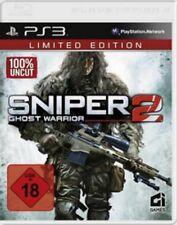 PlayStation 3 Sniper Ghost Warrior 2 Limited Edition OVP Neuwertig