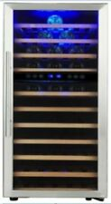 PKM WKS72B Weintemperierschrank für 72 Fla. Weinkühlschrank Glastür Kühlschrank