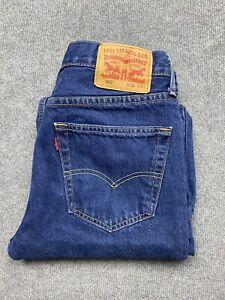 Levi's 516 Jeans Mens 32 Denim Straight Leg Regular Fit Blue Wash 32x32 32 x 32
