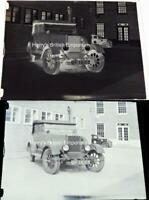Morris Motor Car Worthing 1930s Vintage Glass Photograph Negative