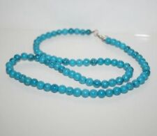 TURQUOISE GEMSTONE NECKLACE 21 INCHES LONG ~ THE PROTECTIVE STONE ~ T7