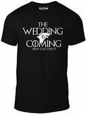 The Wedding Is Coming Custom Stag T-shirt - Game of Thrones