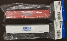Lot of 2 - HO Scale 949-8523 & 949-8525 MARTEN Inter & UNIVERSAL 53' Containers