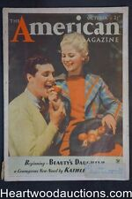 American Oct 1934 Kathleen Norris, I.A.R. Wylie, Karl Detzer, Henry Ford, New De