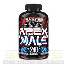 Blackstone Labs APEX MALE - 240 Cap -Testosterone Booster - FREE SHIP BEST PRICE
