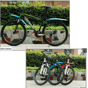 """26""""Bike Front Rear Fender Mudguard Quick Release Bicycle MTB Accessories New"""