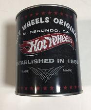 HOT WHEELS 40TH ANNIVERSARY MINT OIL CAN W/ XL T SHIRT AND '66 CHEVY NOVA  RARE