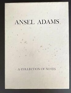 ANSEL ADAMS Black & White Photos Box of 8 Blank Note Cards A COLLECTION OF NOTES
