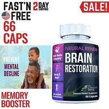 Brain Booster Nootropic Supplement Limitless Pills Focus Energy Memory Clarity
