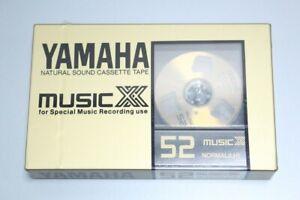 YAMAHA cassette tape Music XX 52
