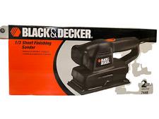 Black & Decker 1/3 Sheet Finishing Sander 7448
