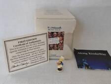 Olszewski Hummel Miniature Figurine Baker 1st Ed Original Box Coa 262-P